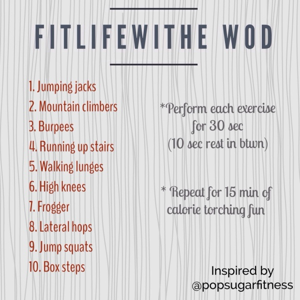 wod, hiit, body after baby