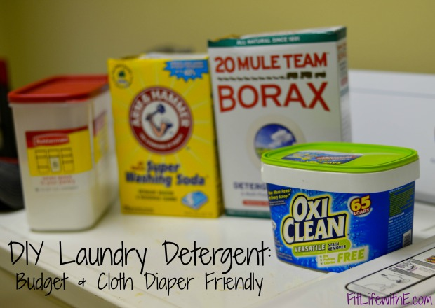 diy laundry detergent cloth diaper budget friendly